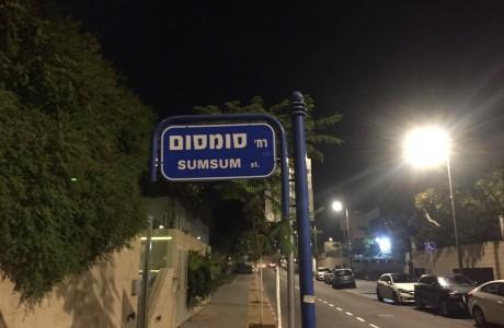 רחוב סומסום האמתי